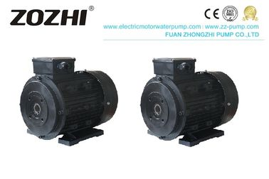 Fan Cooling Hollow Shaft Motor , 90L3-4 3.5hp Aluminum Electric Motor 4 Pole